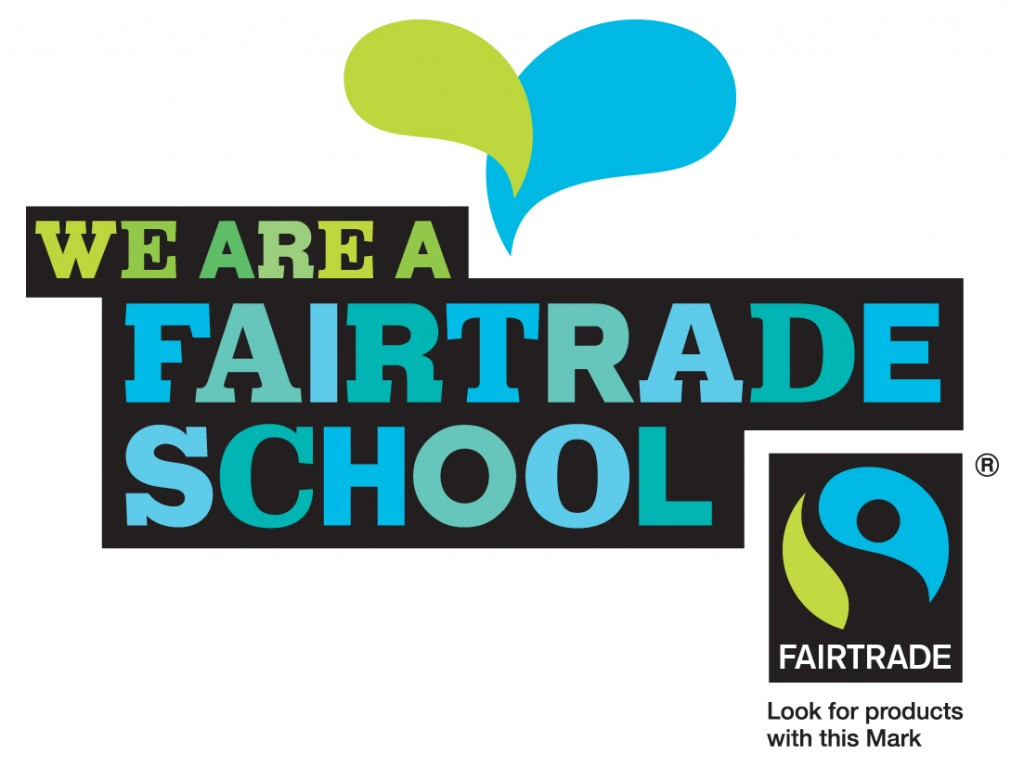 We are now a fairtrade school