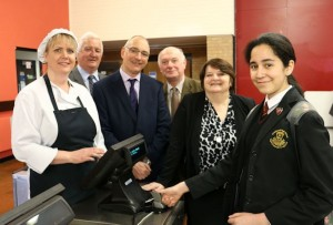 Cashless Catering Launch Photo