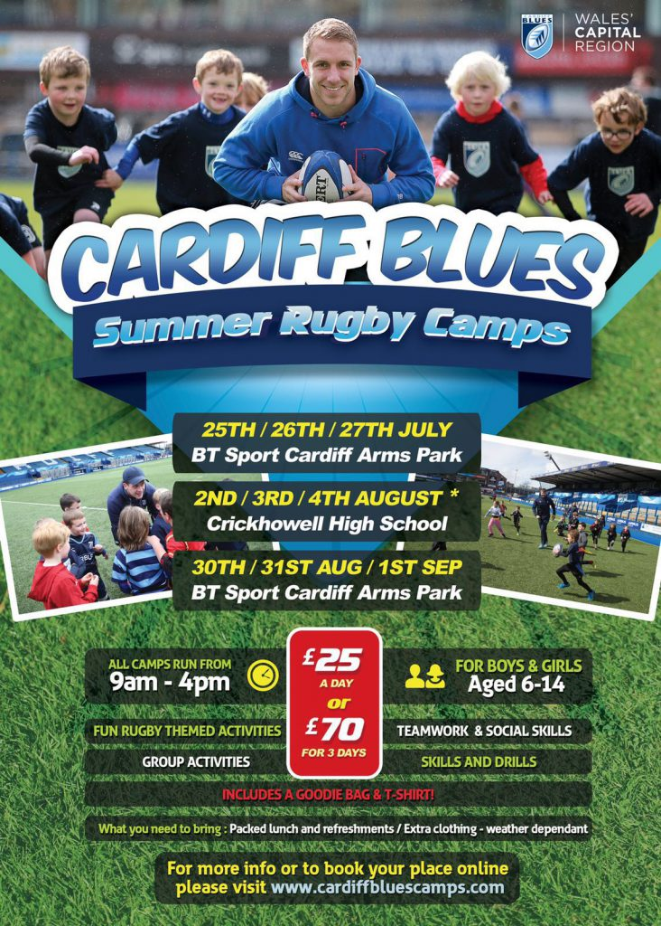 Cardiff Blues Summer Rugby Camps
