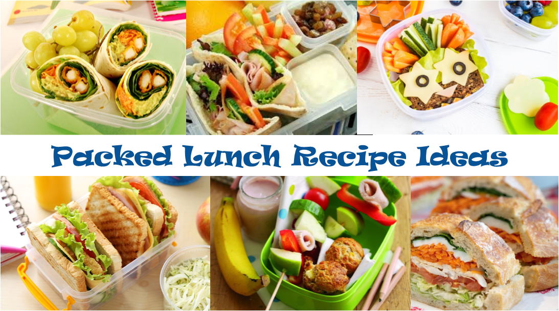 Packed Lunch Recipe Ideas