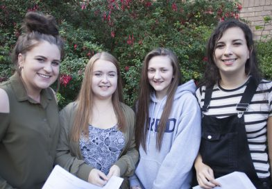 Celebrations all Round as A Level Results are Unveiled