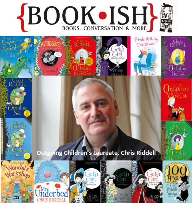 Chris Riddell, Outgoing Children's Laureate, Visits Crickhowell High School