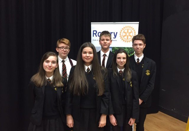 Rotary Area Final of Youth Speaks
