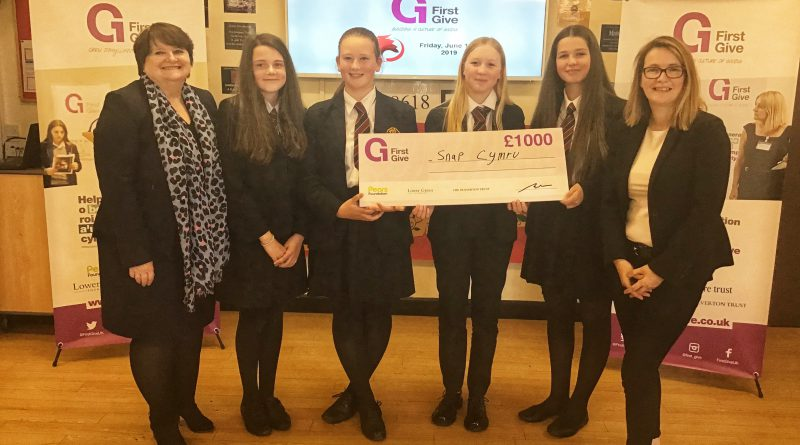 First Give Finals – £1,000 for Snap Cymru