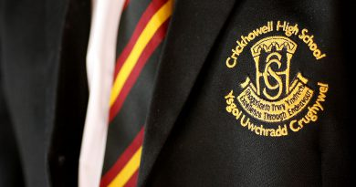 CHS Logo on School Blazer