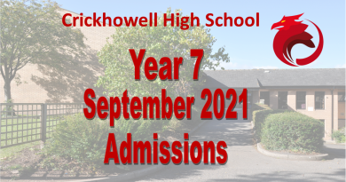 2021 Year 7 Admissions